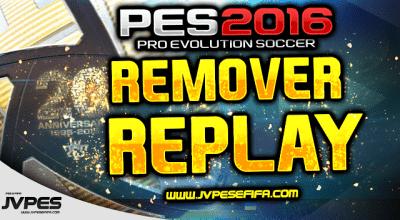 PES 2016 — Удаление повторов (Remover o Replay (Remover o lag)) | Pro Evolution Soccer моды