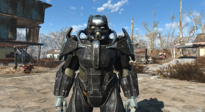 Fallout 4 — Силовая броня «Анклав Х-02» | Fallout 4 моды