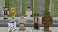 Minecraft на Xbox получит эксклюзивное DLC со скинами Star Wars