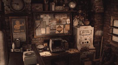 Fallout 4 — Дом для игрока в Штабе «Подземки» | Fallout 4 моды