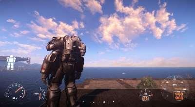 Fallout 4 — Компактный Джетпак | Fallout 4 моды