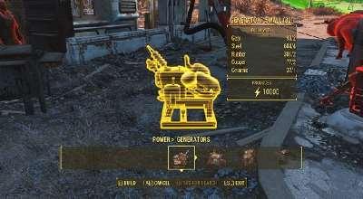 Fallout 4 — 10000 Мощности у генераторов | Fallout 4 моды