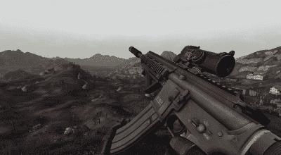 Fallout New Vegas — Штурмовая винтовка HK416 | Fallout New Vegas моды