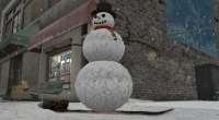 GTA 4 — Снеговик на сноуборде | GTA 4 моды