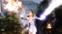 Skyrim — Улучшенная анимация каста магии | Skyrim моды