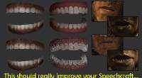 Skyrim — реалистичные челюсти/зубы | Skyrim моды