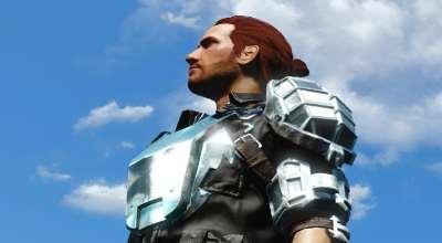 Fallout 4 — Хромированная боевая броня | Fallout 4 моды