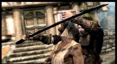Skyrim — Танец смерти (Новые добивания противников)   Skyrim моды