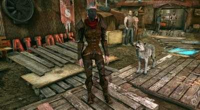 Fallout 4 — Броня охотницы на демонов | Fallout 4 моды