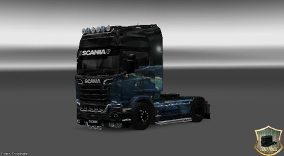 ETS 2 — SCANIA STREAMLINE STRATOS SKIN | ETS2 моды