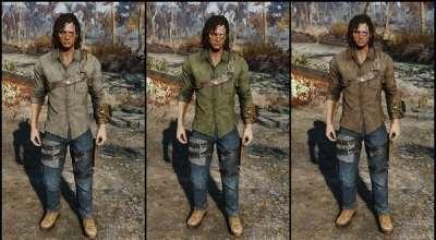 Fallout 4 — Наряд грабителя | Fallout 4 моды
