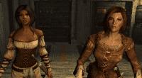Skyrim — Замена женских причесок / KS Hairdos Female NPC Overhaul