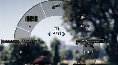GTA 5 — Цветные иконки при выборе оружия   GTA 5 моды