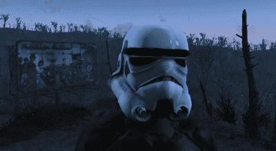 Fallout 4 — Шлем Штурмовика | Fallout 4 моды