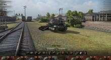 World Of Tanks 0.8.5 — Ангар для wot — карта Энск (база) | World Of Tanks моды