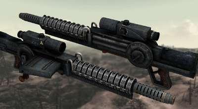 Fallout 3 — Gauss Rifle Hi-Res Retexture | Fallout 3 моды