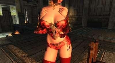 Skyrim — Чистая Элегантность — наряды для девушек (CBBE HDT) | Skyrim моды