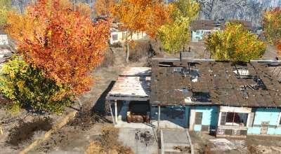 Fallout 4 — Живая листва (Trees Have Colorful Leaves)   Fallout 4 моды
