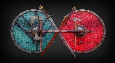 Skyrim — Оружейная Викингов (из сериала Викинги) | Skyrim моды