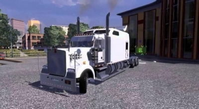 ETS 2 — Kenwoth W900 Long | ETS2 моды