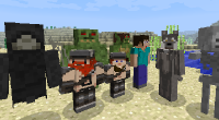 Minecraft — More Player Models для 1.6 — 1.11 | Minecraft моды