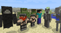 Minecraft — More Player Models для 1.6 — 1.11