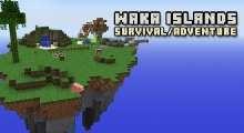 Minecraft — Карта «Waka Islands» для 1.8/1.7.x/1.6.x