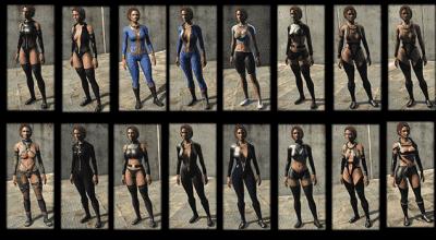 Fallout 4 — Набор откровенных костюмов (CBBE) | Fallout 4 моды