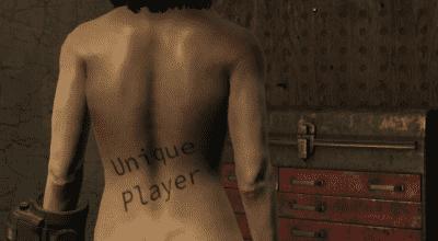 Fallout 4 — Уникальное тело персонажа (Unique Player) | Fallout 4 моды