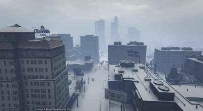 GTA 5 — Снег в синглплеере | GTA 5 моды