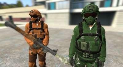 Garrys mod — Одежда из режима Motor Wars в GTA V (для NPC и Игрока)