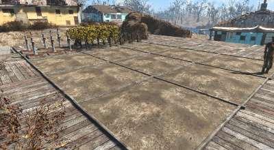 Fallout 4 — Фикс коллизии земляных участков (Wasteland Workshop) | Fallout 4 моды