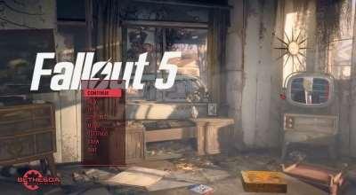 Fallout5 — Trump Реплейсер главного меню   Fallout 4 моды