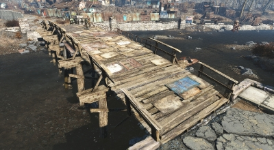 Fallout 4 — Мост в Сэнкчуари-Хиллз | Fallout 4 моды