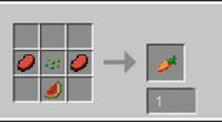 Minecraft 1.7.2 — Craftable Carrot | Minecraft моды
