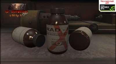 Fallout 4 — Переработанный Rad-X. Реплейсер | Fallout 4 моды