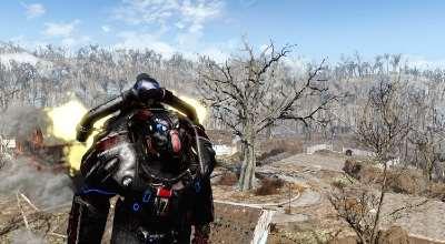 Fallout 4 — Раскраска N7 для Силовой Брони X-01 | Fallout 4 моды