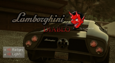 GTA 5 — Ретекстур Инфернуса (Lamborghini Diablo)   GTA 5 моды