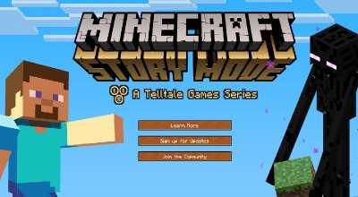 Дебютный трейлер Minecraft — Story Mode
