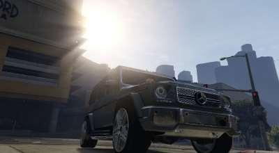 GTA 5 — Mercedes-Benz G65 AMG | GTA 5 моды