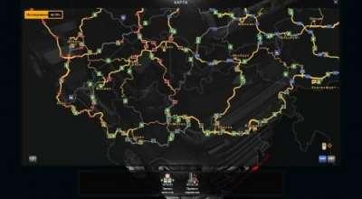 ETS 2 — Карта России и Беларуси (Rus Map) | ETS2 моды