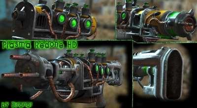 Fallout 4 — Новые текстуры плазменной винтовки | Fallout 4 моды