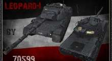 World Of Tanks 0.8.6 — Ремоделлинг Leopard1 (Leopar-1А5 1987 г.в.) | World Of Tanks моды