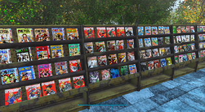 Fallout 4 — Реплейсер журналов на Манги | Fallout 4 моды