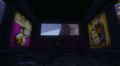 Fallout 4 — Светящаяся реклама на автобусных остановках | Fallout 4 моды