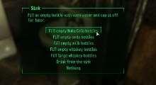 Fallout 3 — Наполнение бутылок из источников воды   Fallout 3 моды