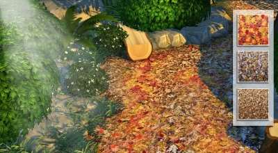 Sims 4 — Осенняя листва (Autumn Leaves) | The Sims 4 моды