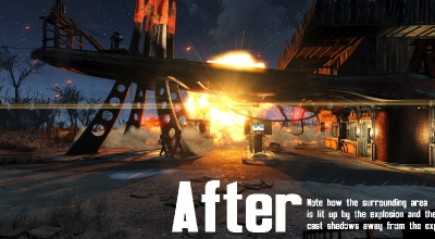 Fallout 4 — Улучшенный ядерный взрыв | Fallout 4 моды