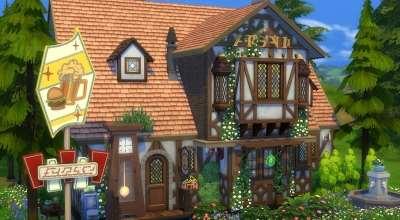 Sims 4 — Бар в классическом стиле | The Sims 4 моды