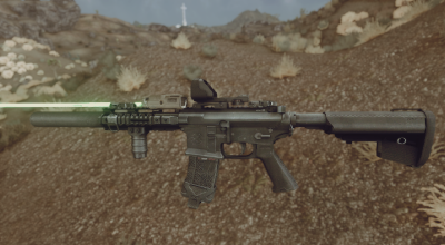 Fallout New Vegas — Штурмовая винтовка Noveske | Fallout New Vegas моды
